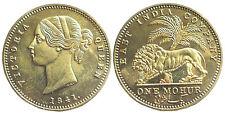 Medaille 1841 Großbritannien - Queen Victoria - Mohur - East India Company