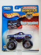 Blue Thunder Monster Jam Truck (#3)(Hot Wheels)(2002)