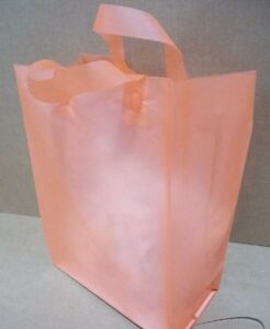 250 Plastic Shopping Bags Retail Merchandise Gift Party Tote LOT Bulk Halloween