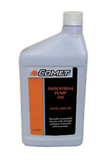 COMET PUMP OIL CASE OF 12 QUARTS COMET INDUSTRIAL PUMP OIL AW100 RATED