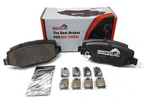 Trail Rated Rear Ceramic Brake Pad Kit for 2007 - 2018 Jeep Wrangler JK/JKU