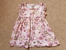 Baby Girls Next 18-24 Months 1.5-2 Years Pink Floral Lady Bird Dress