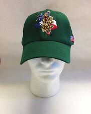 Green Air Force Hat 323 Baseball Cap Texas USAF OSFM