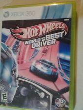 Hot Wheels: World's Best Driver (Microsoft Xbox 360, 2013) CIB Tested Fast Ship!