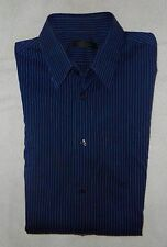 ***** CAMISA RAYAS AZUL CHICO HOMBRE CALVIN KLEIN COLLECTION *****