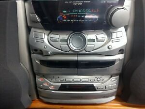 Kenwood XD-951 Hi-fi Component System With Bass Reflex Speakers