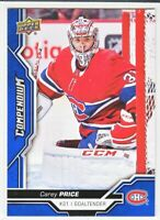 2018-19 Upper Deck Compendium Series 2 BLUE Carey Price  #624