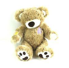 Rare Build A Bear Patches Teddy Bear Plush Corduroy Cute Patches Soft