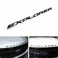 Gloss Black Hood 3D Emblem 8 Letters Fit 2011-2017 Ford Explorer Sport US seller