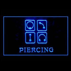 100011 Piercing Body Ear Tattoo Earing Shop Display Neon Sign