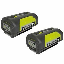 New Ryobi OP4030 40V 3.0Ah Li-ion Battery 2PK Replaces OP4015 OP4026 for RY40430