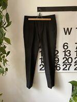 J.Crew Men's Ludlow Slim Wool Suit Trousers Charcoal Gray Flannel 31 x 32
