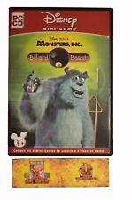 Disney Pixars Monsters Inc Billiard Beast PC Game Pinball Pool Arcade