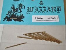 10 ~ Wizzard USA Storm and Patriot ~ Slot Car Replacement Long Rear Axle