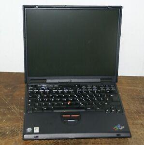 IBM ThinkPad T23 Notebook / Pentium III Vintage Laptop für Windows 98 / XP