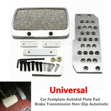 Car SUV Footplate Antiskid Plate Pad Brake Transmission Automatic Aluminum Alloy