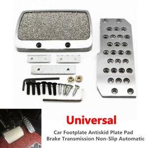 Car SUV Footplate Antiskid Plate Pad Brake Transmission Automatic Aluminum Alloy