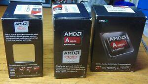 AMD A6-6400K Black Edition 3.9ghz/4.1ghz Turbo, Socket FM2 BNIB