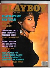 Back Issue June 1990 Playboy Magazine ~ Renee Tenison Cover & PMOY