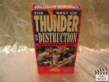 The Best of Thunder And Destruction NFL's Hardest Hits VHS Sports Illustrated