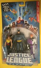 JLU 3 Pack Batman Elongated Man Hawkgirl DC Universe Justice League Unlimited