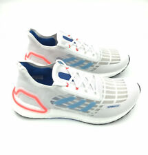 ADIDAS MENS Shoes UltraBOOST Summer Ready Size US 11 | White Blue Solar Red