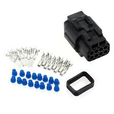 1 Kits 8 Pin Way Sealed Electrical Wire Connector Plug Automotive Accesories Set