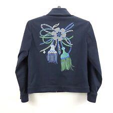 St. John Sport by Marie Gray Full Zip Womens Pockets Blazer Jacket