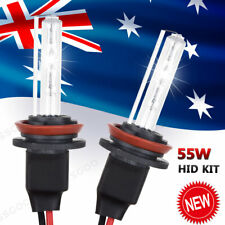2Pcs 55W H7 Xenon HID Kit Headlights Replacement 6000K White Globes Bulbs Car