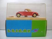 Diecast Eligor Citroen Traction Cabriolet 1/43 Red Mint in Box incl. Stickers