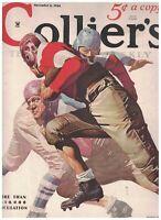 Collier's Magazine November 3 1934 Football Cover Ronald McLeod Lucian Cary