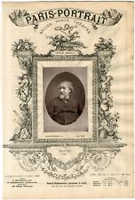 Lemercier, Paris-Portrait, Jean-Baptiste Sébastien Krantz (1817-1899), ingénieur