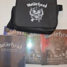 MOTORHEAD - MOTORBAG: THE WORLD IS OURS VOL.1 & 2 - 2012 FANPACKAGE 6LP/2CD/2DVD
