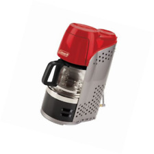 Coleman QuikPot Portable Propane 10 Cup Coffee Maker - Red