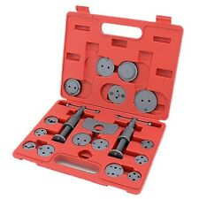 19pc Professional Brake Piston Caliper Rewind Car Garage Tool Kit Wind Back New
