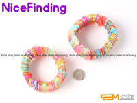 28mm Fashion Multi Color Sea Shell Adjustble Bracelet Jewelry For Women Gift 7''