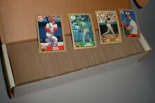 1987  topps baseball complete set (792 cards) nm/mint free shipping