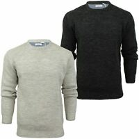 Xact Mens Jumper Fashion Wool Blend Knit