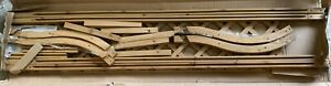 Wooden Garden Arch Archway Support Wood Timber Entrance Tan