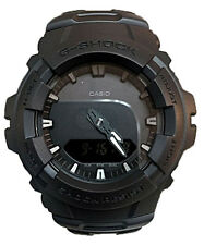 Casio G-Shock Analog-Digital 200m Anti-Magnetic Black Resin Watch G100BB-1A