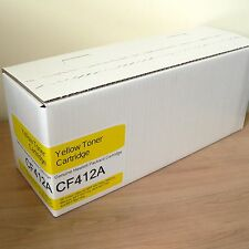 GENUINE HP CF412A/ 410A YELLOW LaserJet MFP M377,M452,M477 Toner Cartridge (TC)