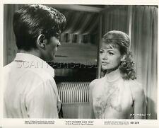 ALAIN DELON DORA DOLL MELODIE EN SOUS-SOL 1963 4 VINTAGE PHOTOS ORIGINAL LOT