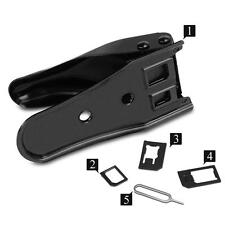 New Eject Pin Double Micro Nano Cutting SIM Card Cutter for iPhone6 6 Plus 5 5S