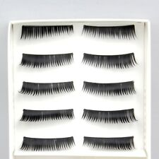 30 Pairs Black Handmade Natural Fake False Eyelashes Eye Lashes ( 3 boxes )