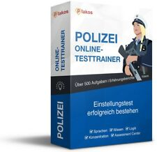 ► Polizei Einstellungstest / Eignungstest | Online-Testtrainer | inkl. Videos ✔️