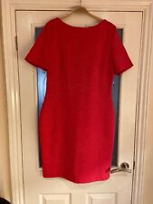Ladies Clothes Size 16 Asos Paper Dolls Pink Dress Body Con Embossed Floral (67)