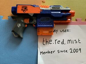 Nerf Stryfe Electric Gun With New Batteries