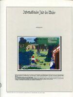 Motivsammlung Internationales Jahr des Kindes im Vordruckalbum
