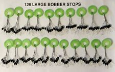 126  RUBBER BOBBER STOPS LARGE FLOAT FISH TEXAS RIG PEG SINKER STOP BOBBERSTOPS