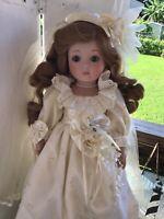Vintage Porcelain Bride By Goebel, Limited Edition By Karen Kennedy